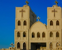 Photo: Paul Perry, St. George Church in Al Qantara on the Suez Canal.