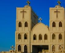 Photo: Paul Perry, St. George Church in Al Qantara on the Suez Canal.