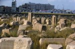 Photo: Norbert Schiller, Stones from a Pharaonic temple at Tell Basta.