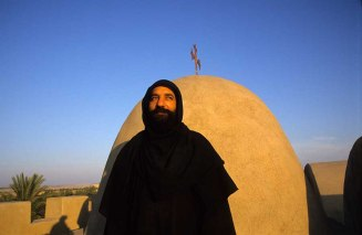 Photo: Norbert Schiller, priest of Wadi al-Natrun.