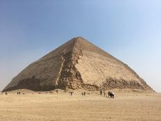 Photo: Shangyun Shen, the bent Pyramid in Dahshur