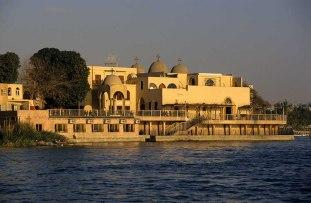 Photo: Norbert Schiller, the church at Maadi overlooking the Nile.