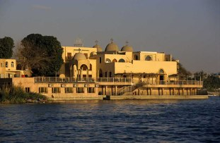 Photo: Norbert Schiller, the church at Maadi overlooking the Nile.