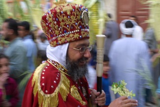 Photo: Popko van Meekeren 2002, Palm Sunday procession in Sarakna.