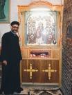Photo: Paul Perry, shrine of St. Dimyana inside the Church of Buq.