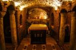 Photo: Shangyun Shen, the holy cave in the Church of Abu Serga.