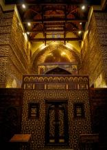 Photo: Shangyun Shen, the central sanctuary of the Church of Abu Serga.