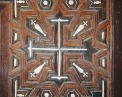 Photo: Paul Perry, inlaid craft on the iconostasis of the church in Buq.